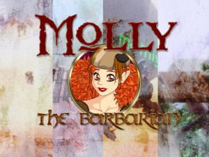 Meet Molly the Barbarian. Or, better yet, let's introduce her to non-traditional gamers!